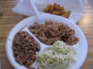 One of the state's best barbecue plates.