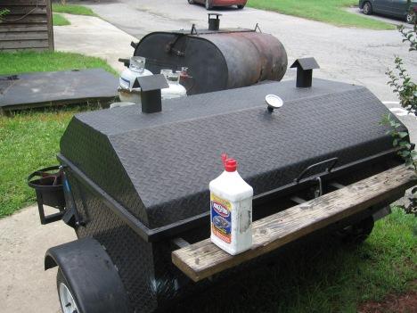 Lighter fluid on a propane cooker?